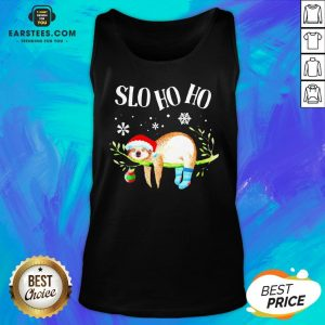 Original Sloth Slo Ho Ho Christmas 2020 Tank Top - Design By Earstees.com