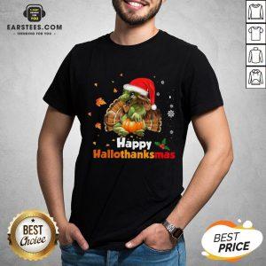 Perfect Dragon Happy Hallothanksmas Shirt - Design By Earstees.com