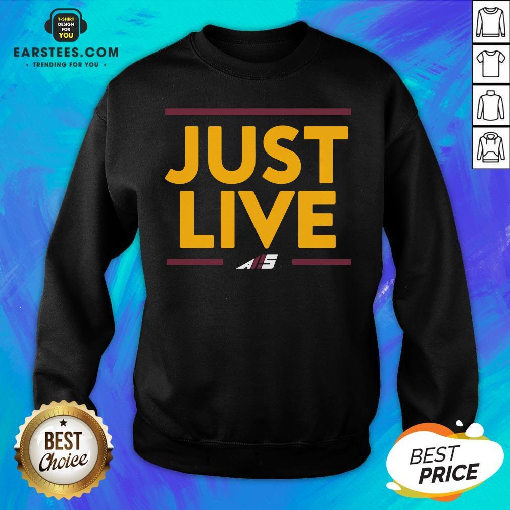 Perfect Just Love AS Sweatshirt- Design By Earstees.com