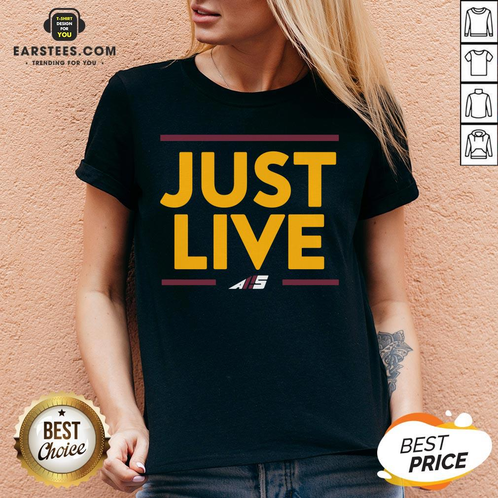Perfect Just Love AS V-neck - Design By Earstees.com