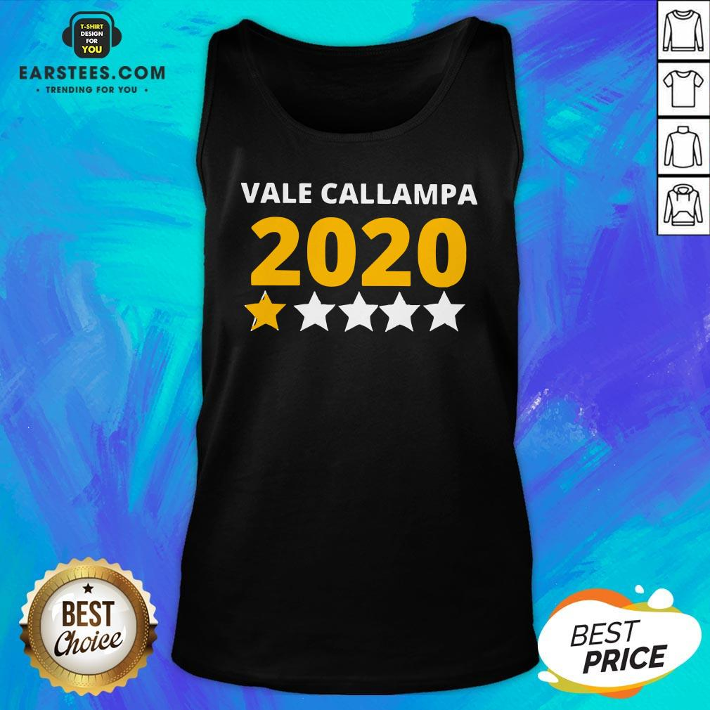 Perfect Vale Callampa 2020 Tank Top - Design By Earstees.com