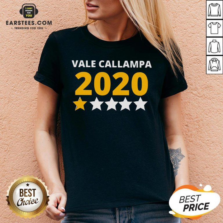 Perfect Vale Callampa 2020 V-neck - Design By Earstees.com