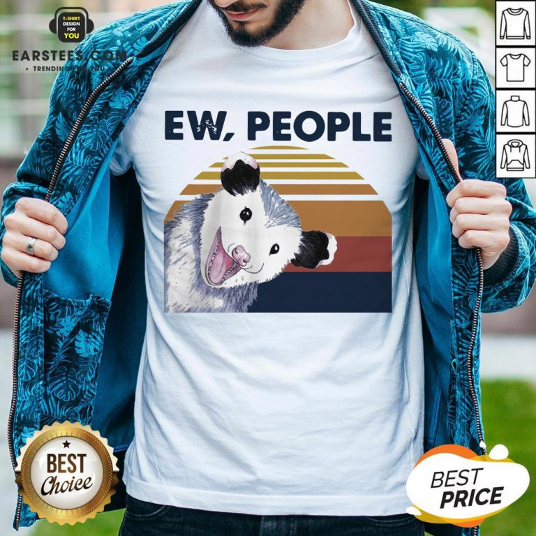 Perfect Vintage Ew People Possum Classic T-Shirt - Design By Earstees.com