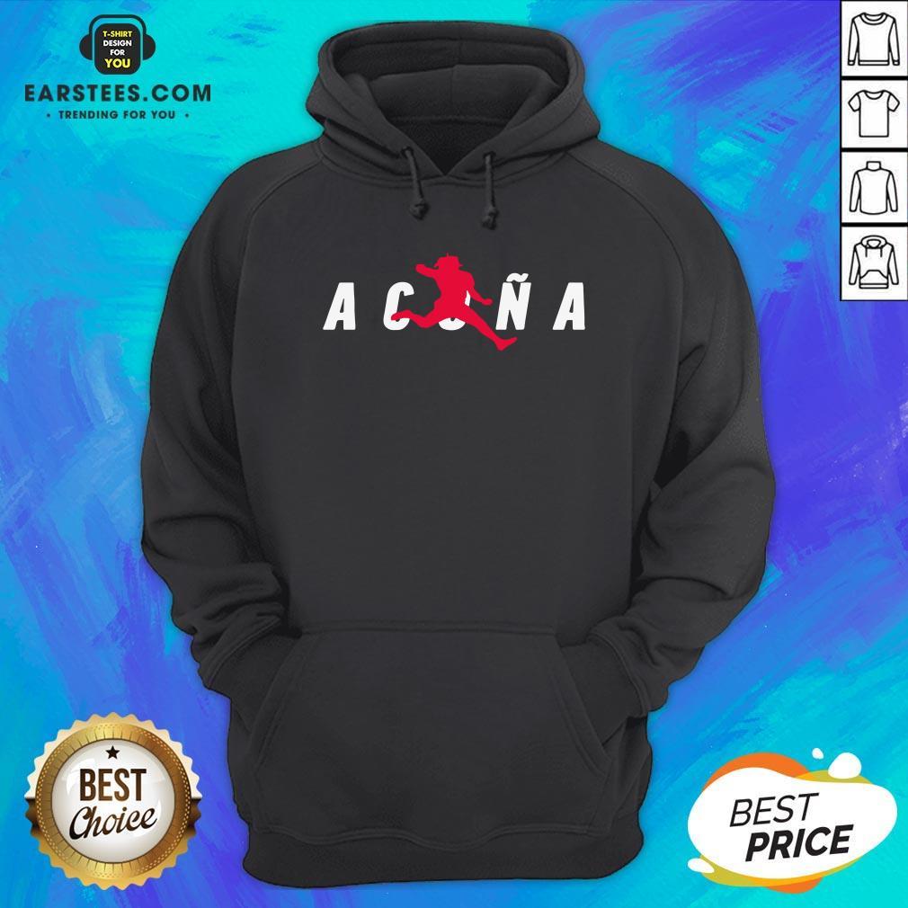 Premium Air Acuña Hoodie - Design By Earstees.com