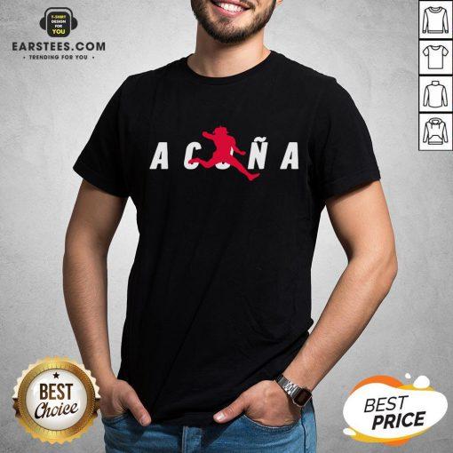 Premium Air Acuña Shirt - Design By Earstees.com
