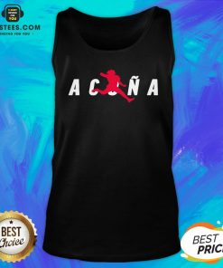 Premium Air Acuña Tank Top - Design By Earstees.com