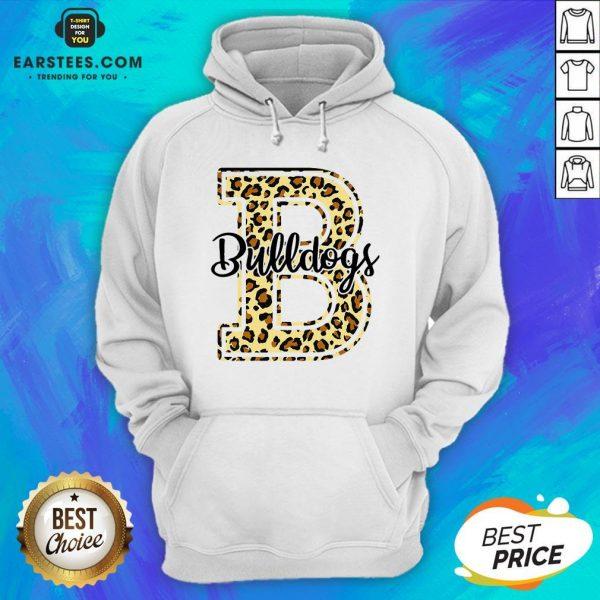 Premium Bulldogs Leopard Hoodie - Design By Earstees.com