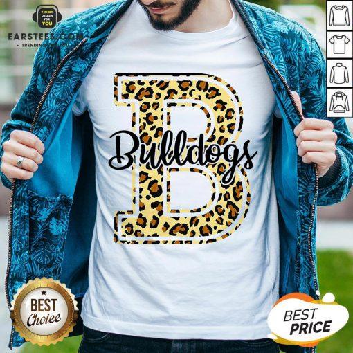 Premium Bulldogs Leopard Shirt - Design By Earstees.com