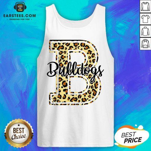 Premium Bulldogs Leopard Tank Top - Design By Earstees.com