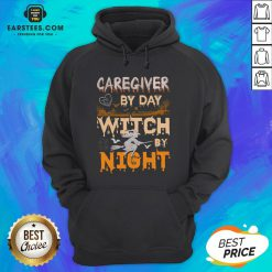 Premium Caregiver By Day Witch By Night Hoodie