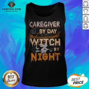 Premium Caregiver By Day Witch By Night Tank Top