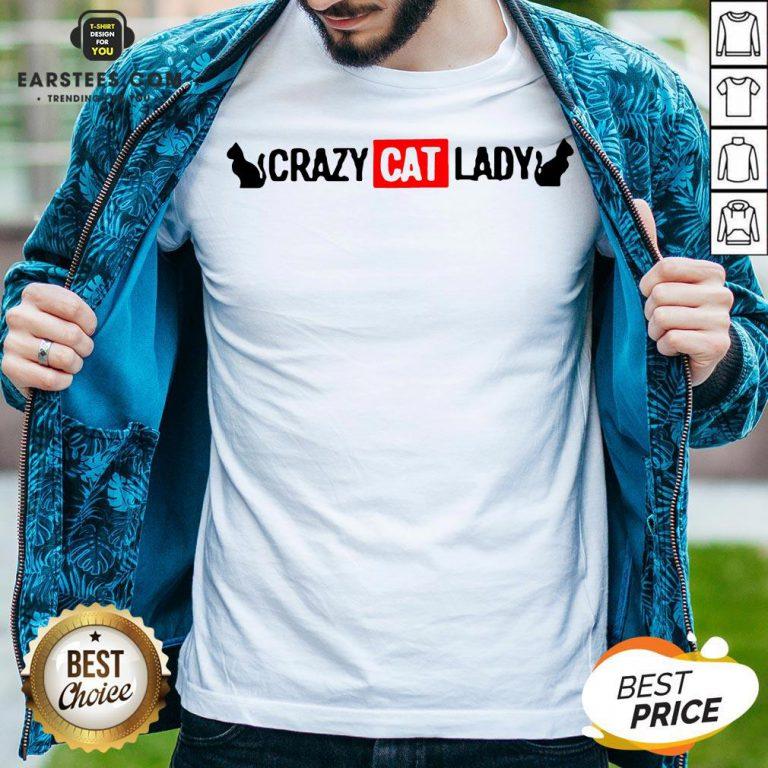 Premium Crazy Cat Lady Shirt