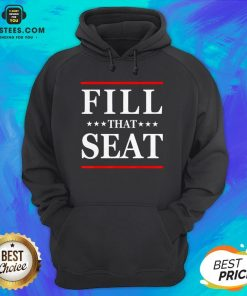 Premium Fill That Seat Hoodie- Design By Earstees.com