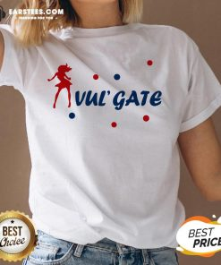 Premium Vul Gate V-neck - Design By Earstees.com