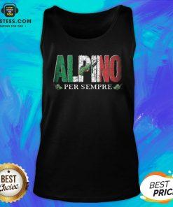 Pretty Alpini Per Sempre Veretan Tank Top - Design By Earstees.com