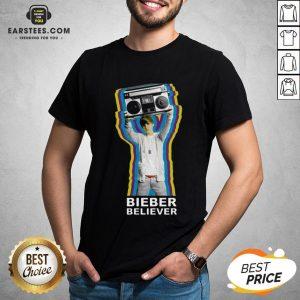 Pretty Bieber Believer Merch Boombox 2020 Shirt - Design By Earstees.com