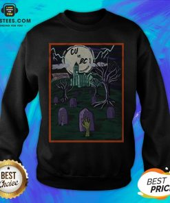 Pretty CU Vs BC Tiger Halloween Sweatshirt - Design By Earstees.com