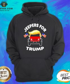 Pretty Jeepers For Trump American Hoodie - Design By Earstees.com