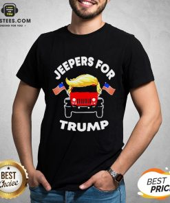 Pretty Jeepers For Trump American Shirt - Design By Earstees.com