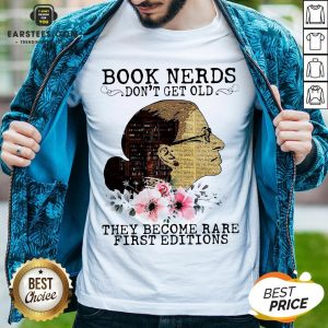 Pretty RBG Notorious Book Nerds Don't Get Old They Become Rare First Editions Shirt - Design By Earstees.com