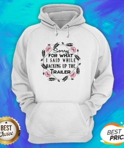 Sorry For What I Said While Backing Up The Trailer Hoodie