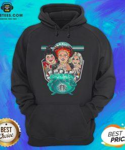 Top Hocus Pocus Starbucks Coffee Halloween Hoodie - Design By Earstees.com