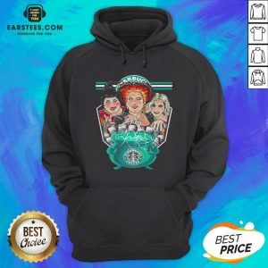 Top Hocus Pocus Starbucks Coffee Halloween Hoodie - Design By Earstees.com