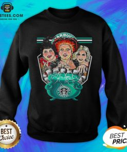 Top Hocus Pocus Starbucks Coffee Halloween Sweatshirt - Design By Earstees.com