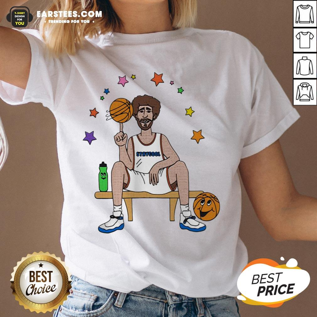 Top Lil Dicky X Staycool Courtside V-neck - Design By Earstees.com