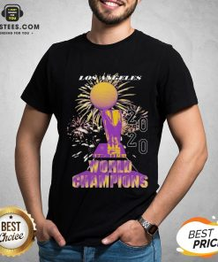 Top Los Angeles Lakers Championship 2020 Shirt - Design By Earstees.com