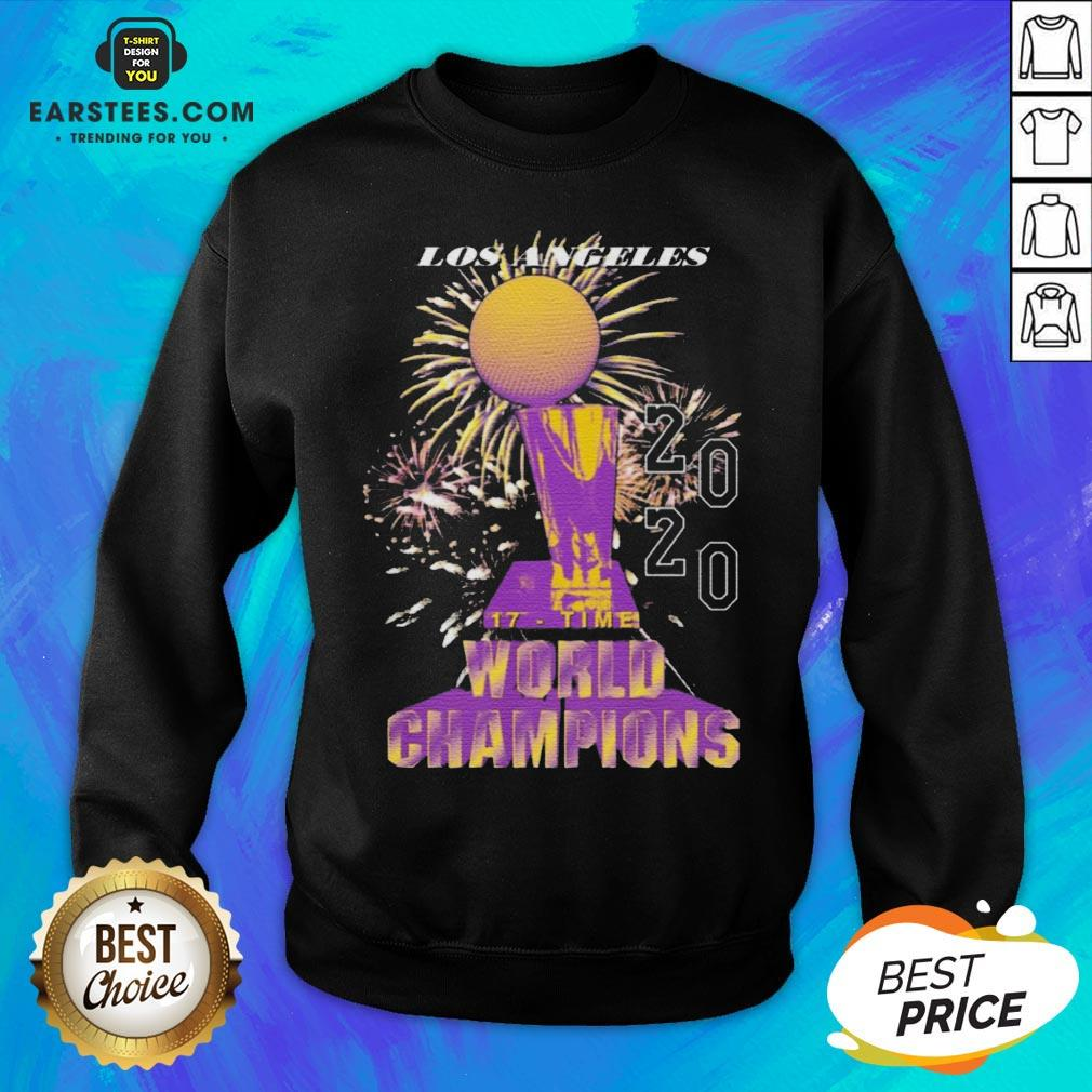 Top Los Angeles Lakers Championship 2020 Sweatshirt - Design By Earstees.com