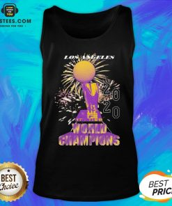 Top Los Angeles Lakers Championship 2020 Tank Top - Design By Earstees.com
