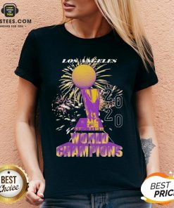 Top Los Angeles Lakers Championship 2020 V-neck - Design By Earstees.com