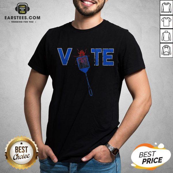 Vote Truth Over Flies Fly Swatter Biden 2020 Shirt - Design By Earstees.com