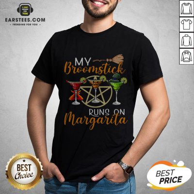 Wines My Broomstick Runs On Margarita Supernatural Halloween Shirt - Design By Earstees.com
