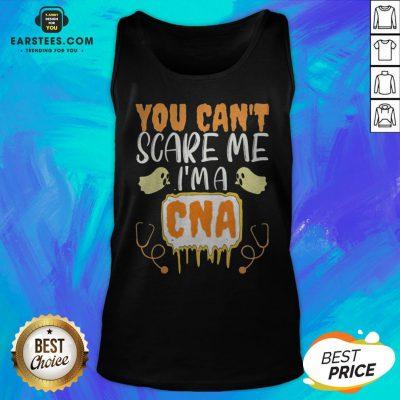 You Can't Scare Me I'm A CNA Halloween Nurse Tank Top - Design By Earstees.com
