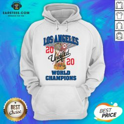 Official MLB Los Angeles Dodgers Undefeated 2020 World Championship Dodgers National League Champions 2020 Blue Hoodie - Design By Earstees.com