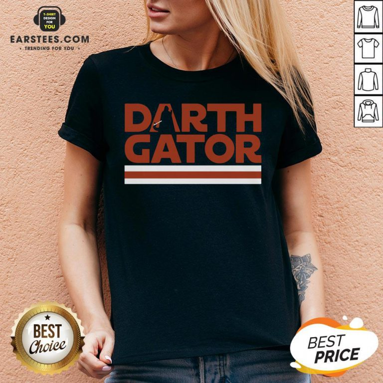Awesome Darth Gator Gainseville V-neck - Design By Earstees.com