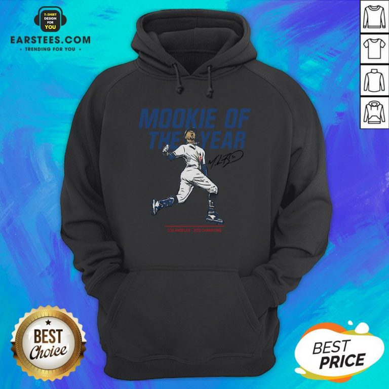 Awesome Mookie Of The Year Hoodie - Design By Earstees.com