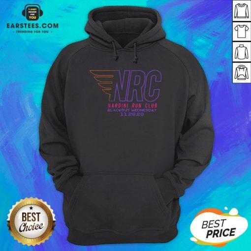 Awesome Nrc Blackout Half Marathon Hoodie - Design By Earstees.com