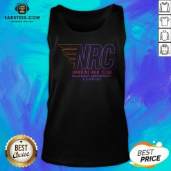 Awesome Nrc Blackout Half Marathon Tank Top - Design By Earstees.com