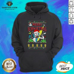 Awesome Rick And Morty Merry Schwiftmas Christmas Hoodie - Design By Earstees.com