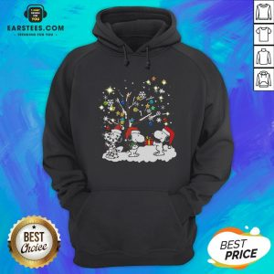Awesome Snoopy Santa Happy Light Christmas 2020 Hoodie - Design By Earstees.com