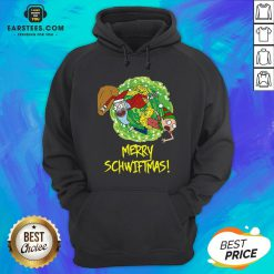 Funny Rick And Morty Merry Christmas Merry Swiftmas Hoodie - Design By Earstees.com