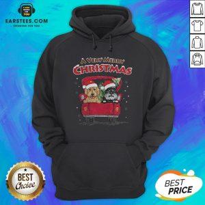 Good Dog A Very Merry Christmas Sweat Hoodie - Design By Earstees.com