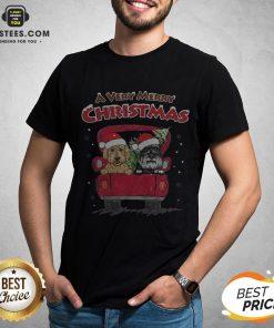 Good Dog A Very Merry Christmas Sweat Shirt - Design By Earstees.com