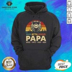 Hot Bear Man Myth Legend Papa Woods Hayes Knox Noad Vintage Retro Hoodie - Design By Earstees.com