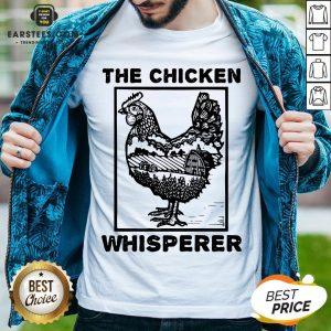 Hot Farmer Farming The Chicken Whisperer Shirt - Design By Earstees.com