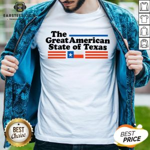 Hot The Great American State Of Texas Shirt - Design By Earstees.com