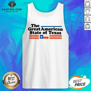 Hot The Great American State Of Texas Tank Top - Design By Earstees.com